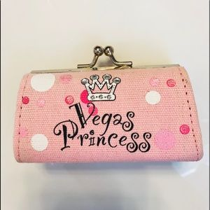 Handbags - Small Vegas change purse.